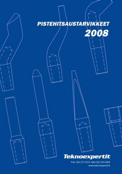 pistehitsaustarvikkeet 2008 pistehitsaustarvikekuvasto kuvasto pistehitsaus hitsaus teknoexpertit maahantuonti