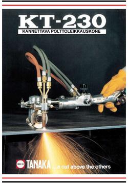 kt-230 esite moottoroitu käsileikkauspoltin 2008 teknoexpertit