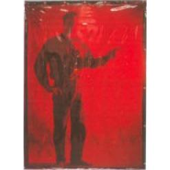11. Hitsausverho punainen, läpikuultava