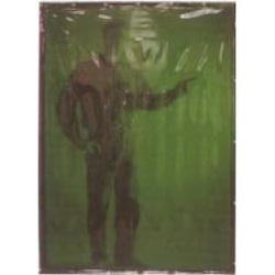 13. Hitsausverho vihreä-6, läpikuultava