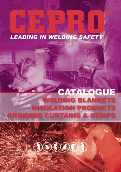 Cepro kuvasto 1 kipinäpeitteet hitsaus teknoexpertit maahantuonti työympäristötuotteet tuotteet