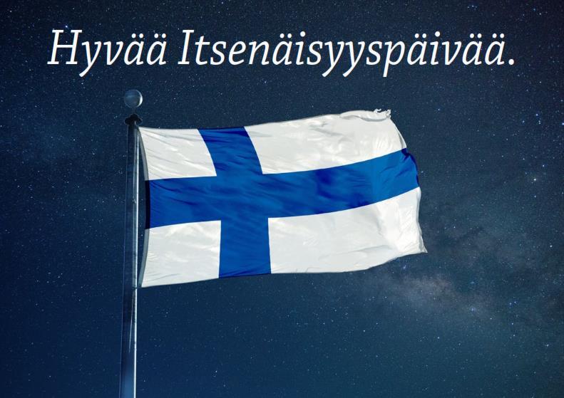 Suomi 101 vuotta!